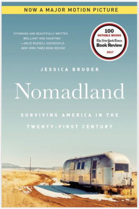 Nomadland, book cover