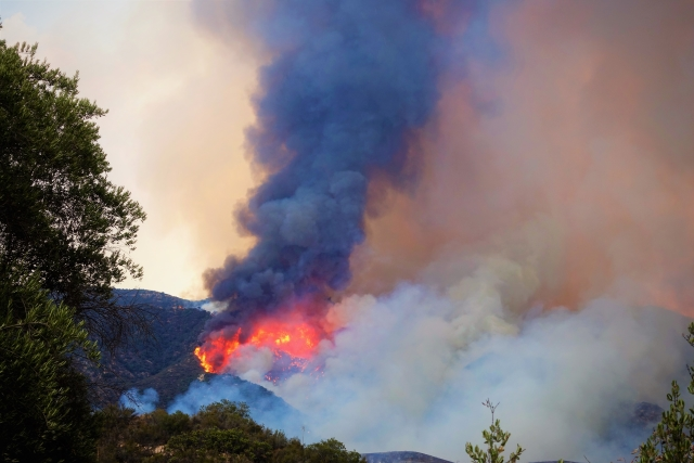 La Tuna Fire Sept 2017